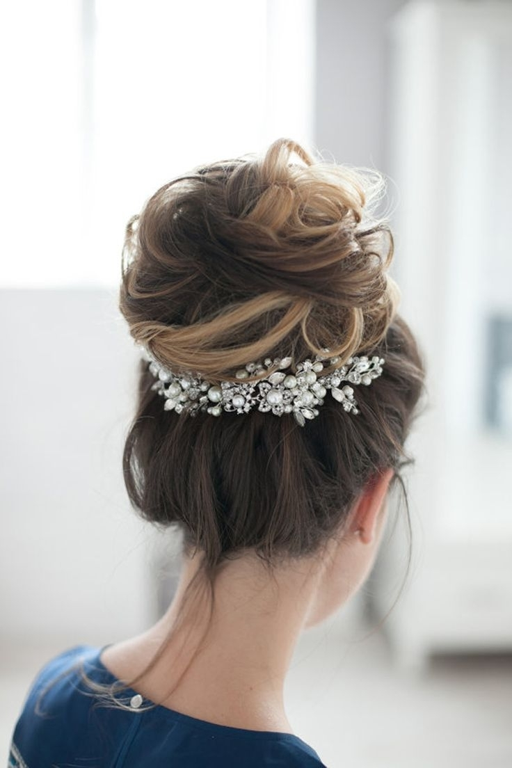Most Recently Released Rustic Wedding Hairstyles Pertaining To Best Winter Wedding Hairstyles Ideas On Pinterest Prom Inspiring (View 10 of 15)