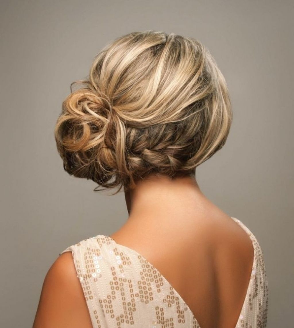 Most Recently Released Side Braid Wedding Hairstyles In Side Braided Updo Hairstyles For Wedding (View 12 of 15)