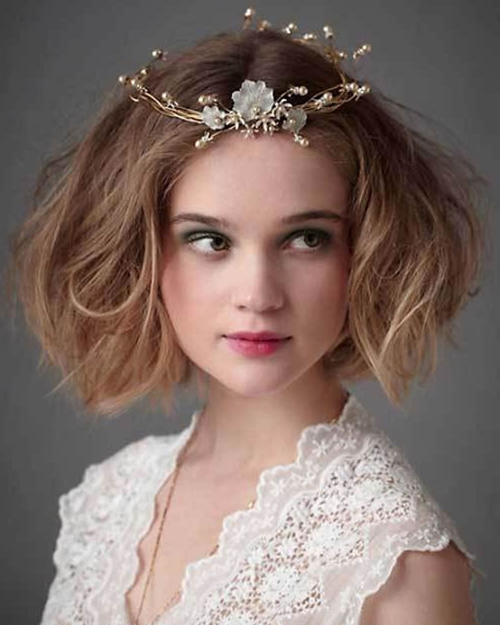 Most Recently Released Wedding Hairstyles And Makeup For 2018 Wedding Hairstyles And Make Up Guide For Short Hair – Hairstyles (Gallery 8 of 15)