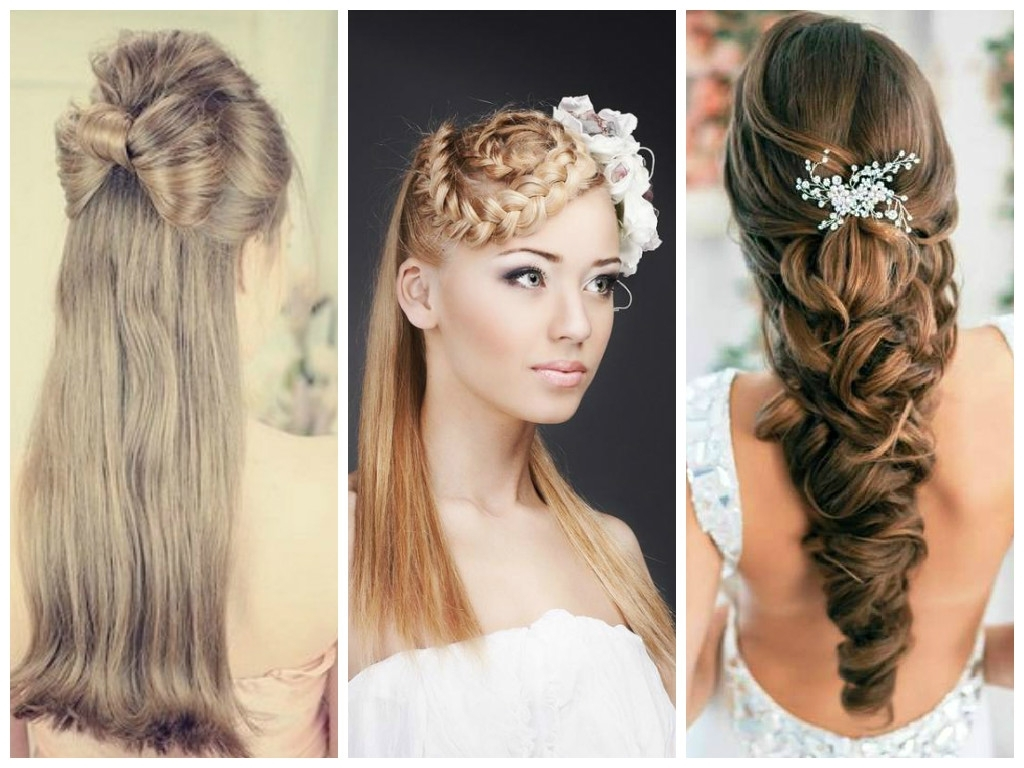 Most Recently Released Wedding Hairstyles For Long Hair With Side Swept Intended For Unique Bridal Hairstyles You'll Fall In Love With – Hair World Magazine (View 7 of 15)