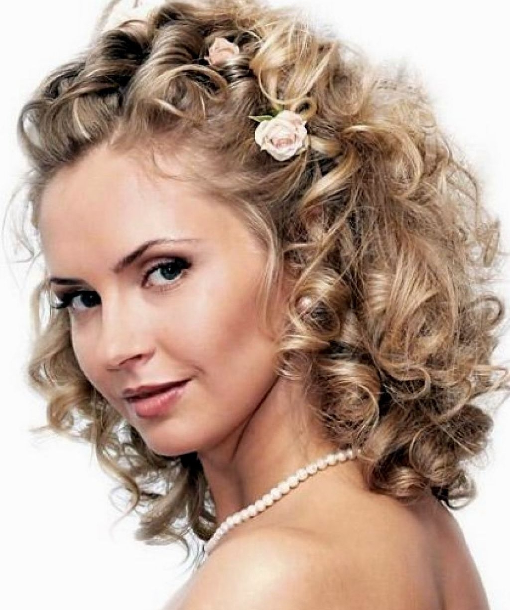 Most Recently Released Wedding Hairstyles For Medium Length Hair With Fringe Pertaining To Wedding Hairstyles For Shoulder Length Hair With Fringe – The Latest (View 8 of 15)