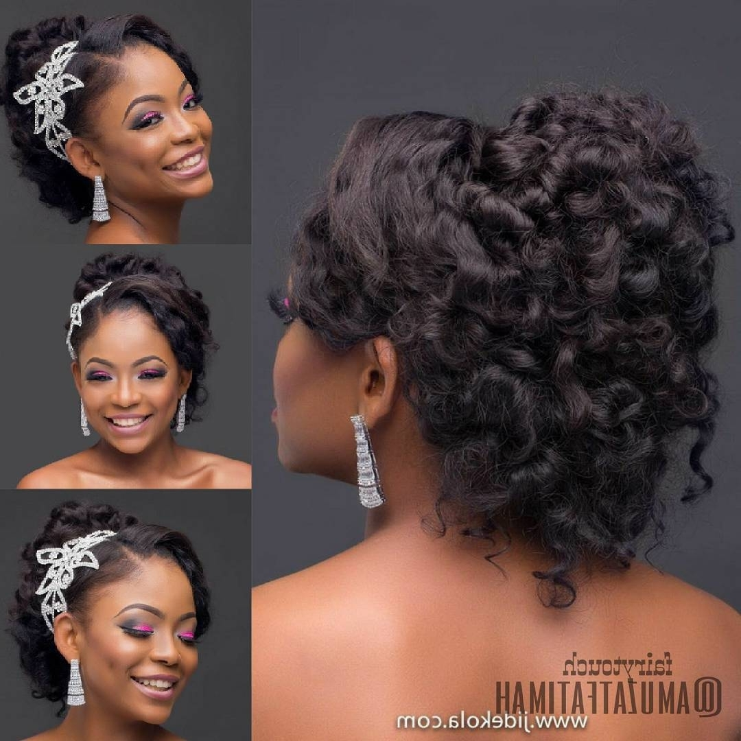 Most Recently Released Wedding Hairstyles For Nigerian Brides Regarding Photos Of Bridal Hairstyles In Nigeria (View 14 of 15)
