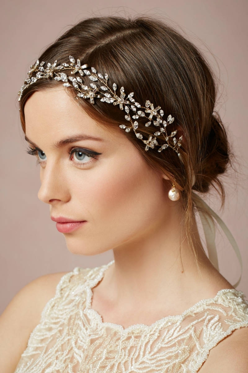 Most Recently Released Wedding Hairstyles For Short Hair With Veil And Tiara Within Best Wedding Hairstyles For Short Hair 2015 – Short Hairstyles (View 14 of 15)