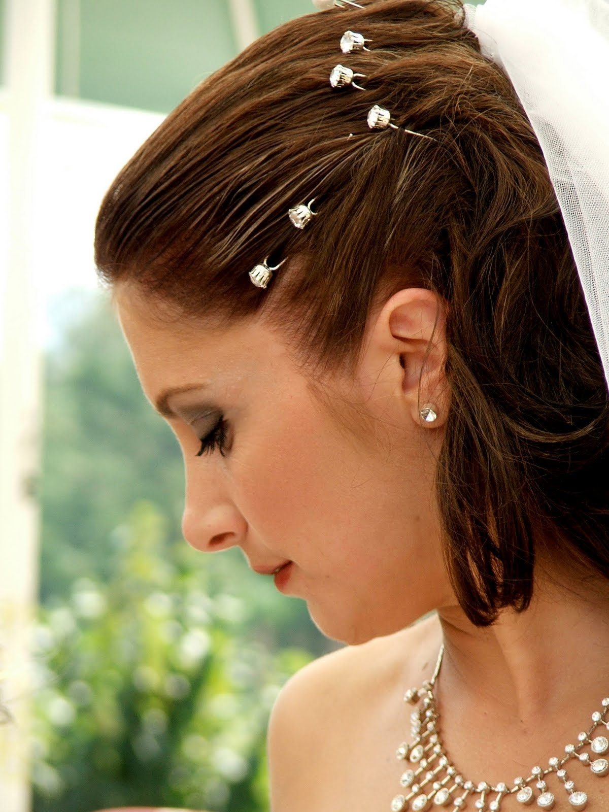 Most Recently Released Wedding Hairstyles For Short Thin Hair For Hairstyles For Short Hair Wedding — Criolla Brithday & Wedding (View 11 of 15)