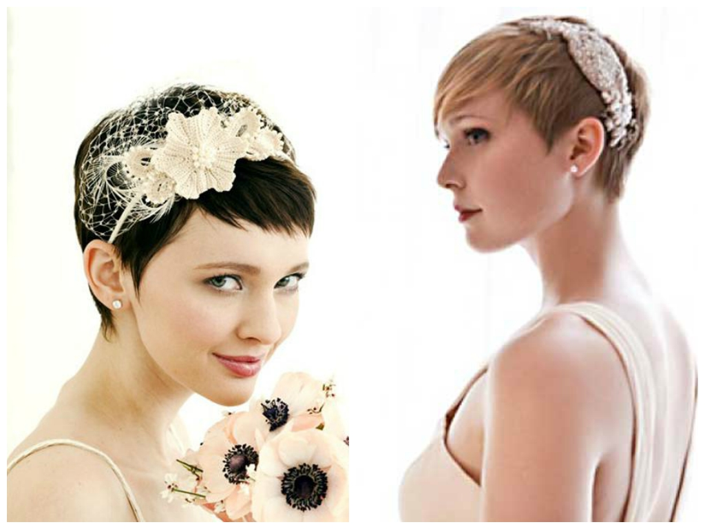 Most Recently Released Wedding Hairstyles For Very Short Hair Pertaining To Popular Wedding Hairstyles With Bangs – Women Hairstyles (View 8 of 15)