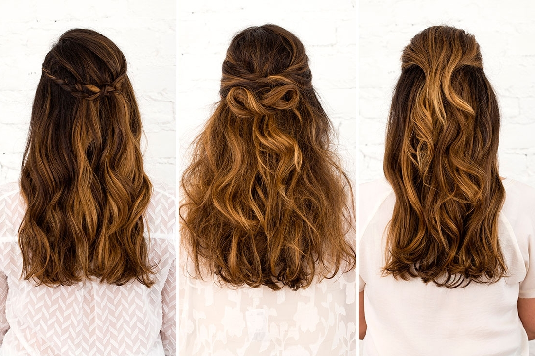 Most Recently Released Wedding Hairstyles That You Can Do Yourself Regarding Down Do Hairstyles For Wedding – Hairstyle For Women & Man (View 12 of 15)