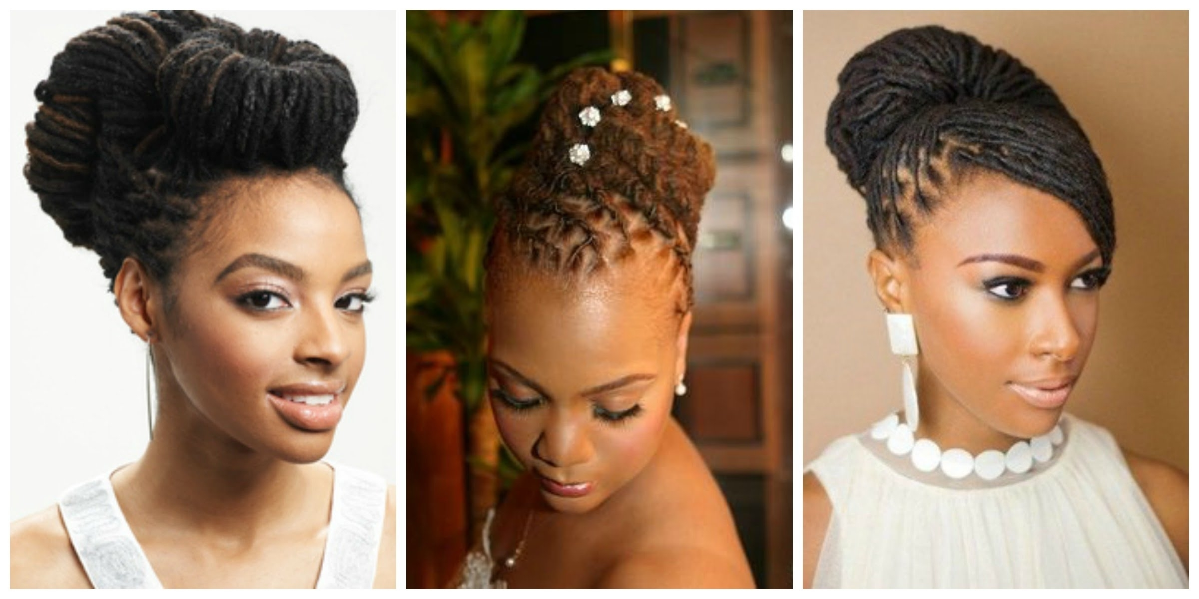 Most Recently Released Wedding Hairstyles With Dreads Within Loc Updo Hairstyles (View 9 of 15)