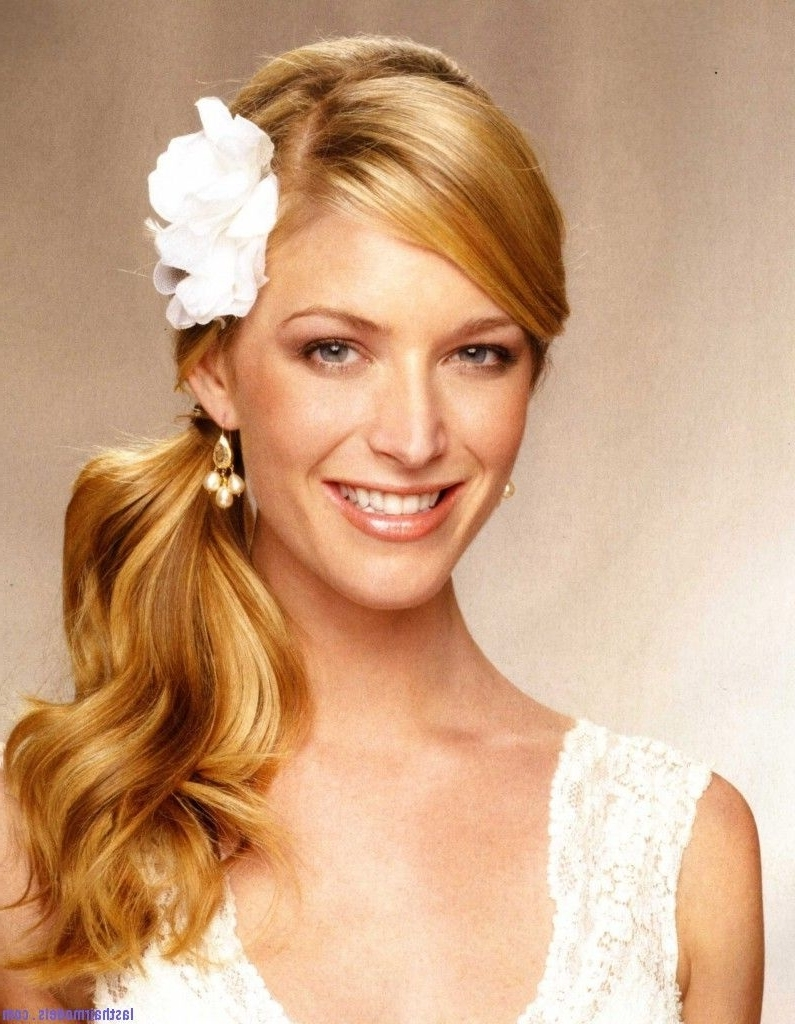 Most Up To Date Beach Wedding Hairstyles For Bridesmaids Pertaining To Pinkelly Cordray On Wedding Hair (View 2 of 15)