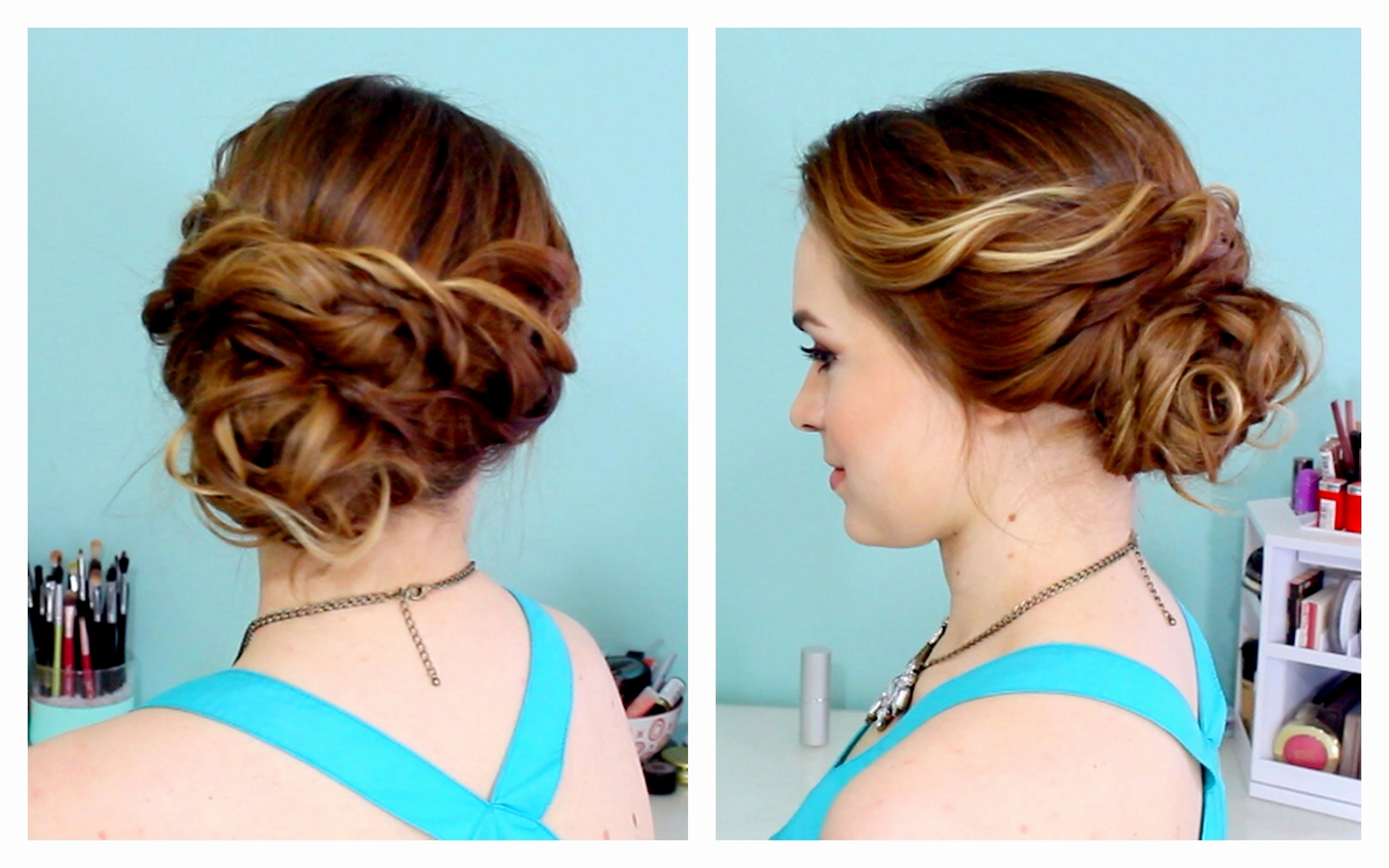 Most Up To Date Easy Bridesmaid Hairstyles For Medium Length Hair Intended For 21 Elegant Easy Wedding Hairstyles For Medium Length Hair (View 12 of 15)