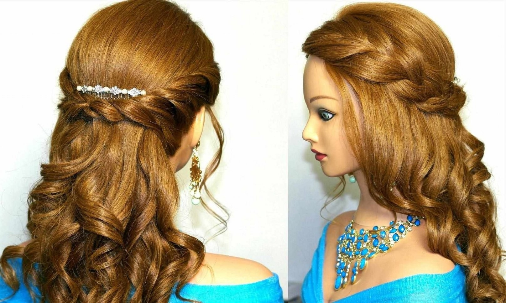 Most Up To Date Hairstyles For Medium Length Hair For Indian Wedding Intended For Easy Indian Wedding Hairstyles For Medium Length Hair (View 10 of 15)