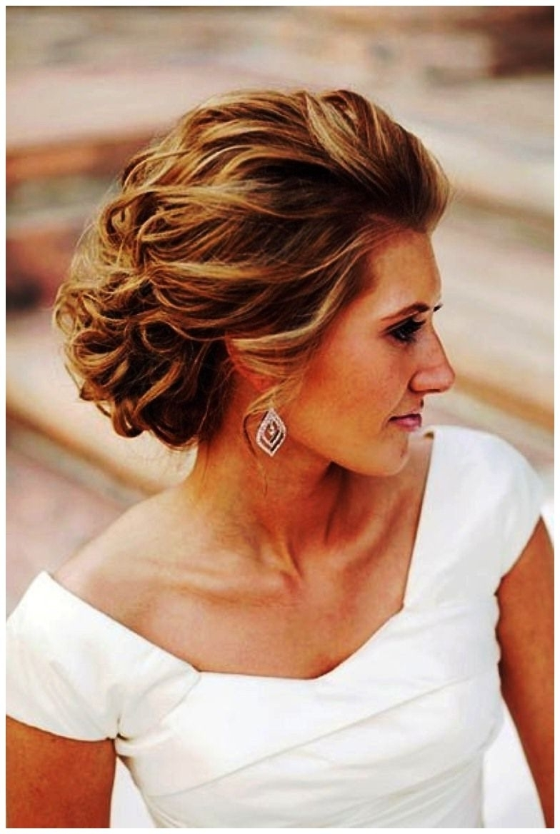 Most Up To Date Modern Wedding Hairstyles For Medium Length Hair Intended For Shocking Hairstyle For Medium Length Hair Modern Updos Image (View 14 of 15)