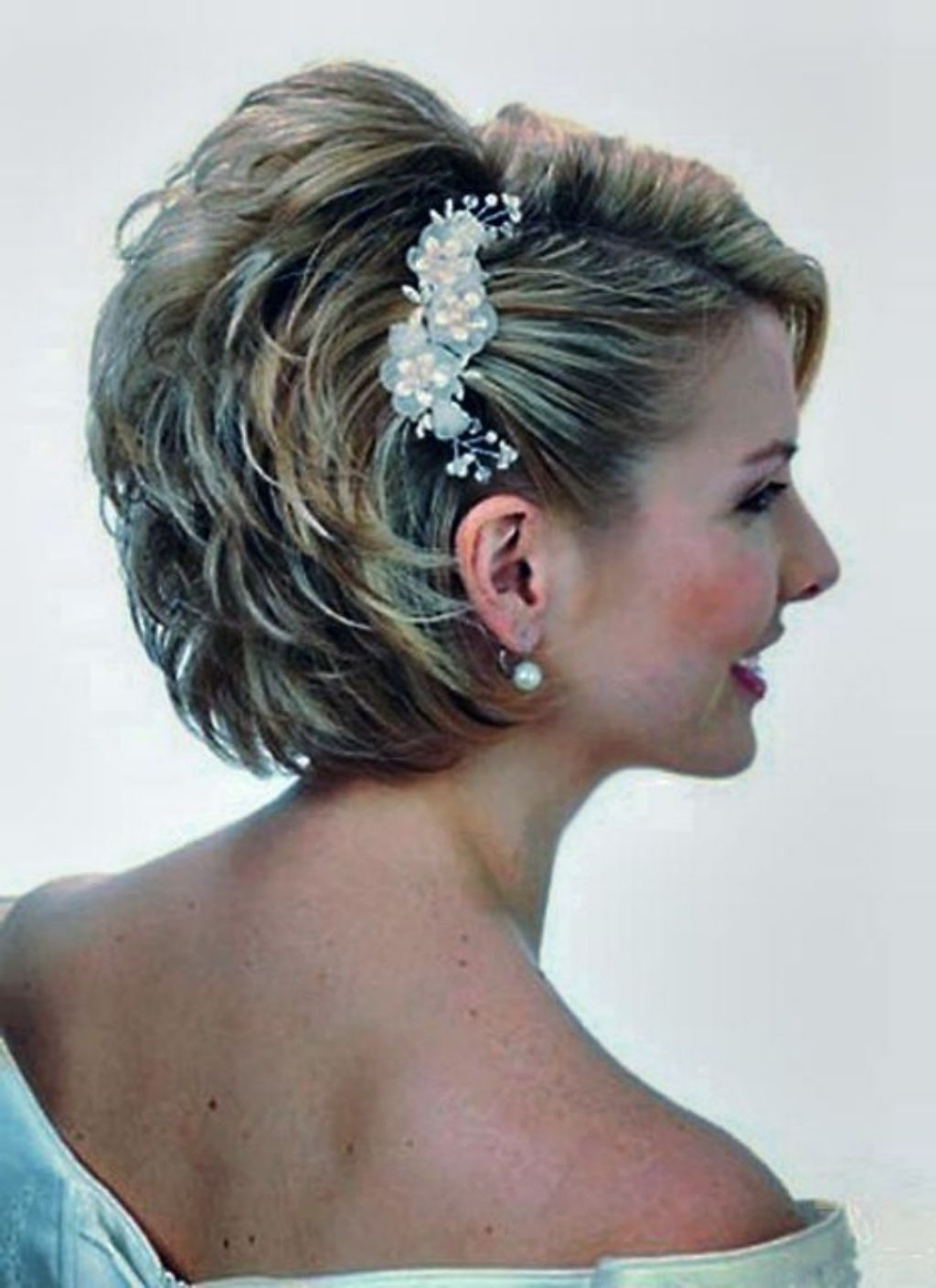Most Up To Date Mother Of Bride Wedding Hairstyles With Regard To Short Wedding Hairstyles Hairstyle Fodo Women Look Pretty With (View 11 of 15)