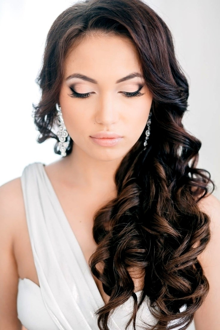 Most Up To Date Wedding Guest Hairstyles For Long Curly Hair In Ideas Wedding Guest Hairstyles Long Hair (View 11 of 15)
