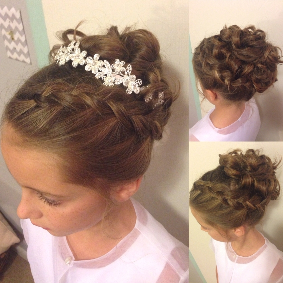 Most Up To Date Wedding Hair For Young Bridesmaids With Regard To Wedding Hair For Young Bridesmaids (View 4 of 15)