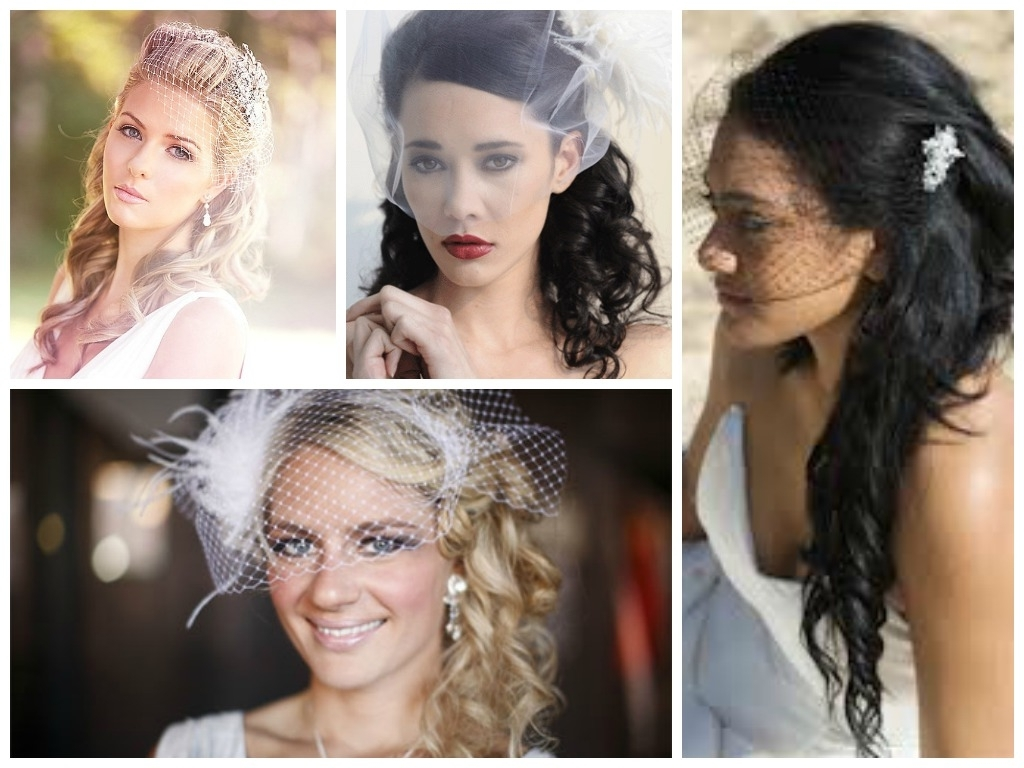 Most Up To Date Wedding Hairstyles For Short Hair With Birdcage Veil Intended For Wedding Hairstyles With A Birdcage Veil – Hair World Magazine (View 8 of 15)