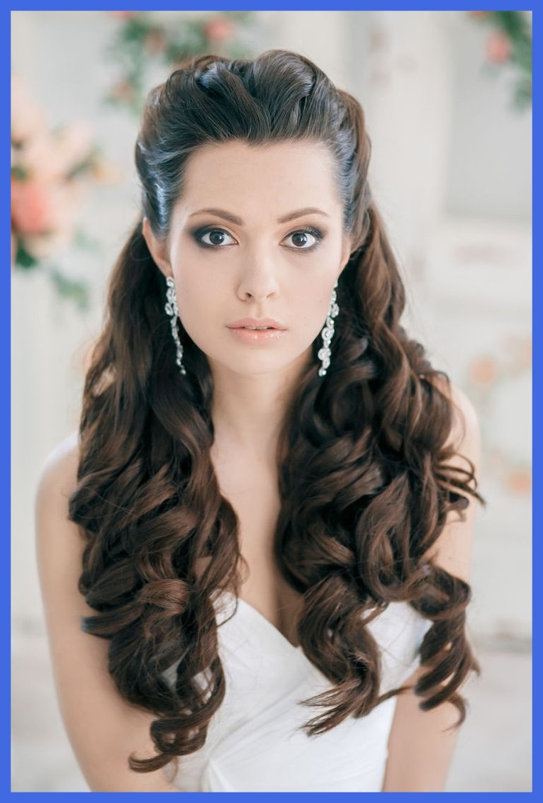 Most Up To Date Wedding Hairstyles For Very Long Hair With Regard To Stunning Half Up Down Wedding Hairstyles With For Long Hair Updos (View 15 of 15)