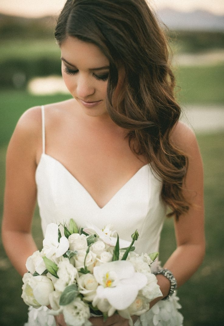 Most Up To Date Wedding Hairstyles On The Side With Curls Throughout Awesome Side Curls Wedding Hairstyles Ideas – Styles & Ideas (View 12 of 15)
