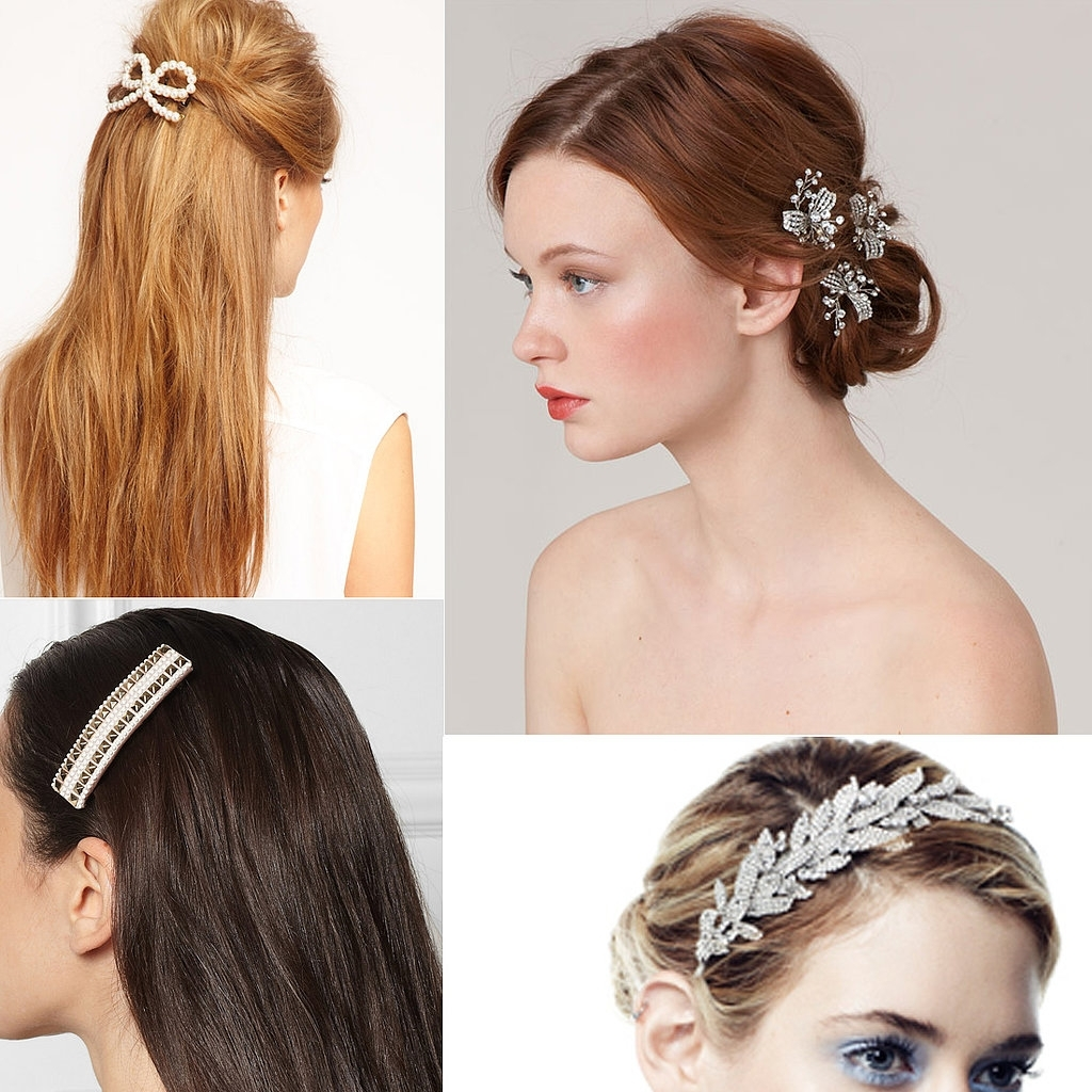 Most Up To Date Wedding Hairstyles With Jewelry Throughout Wedding Hair Jewellery Australia (View 8 of 15)