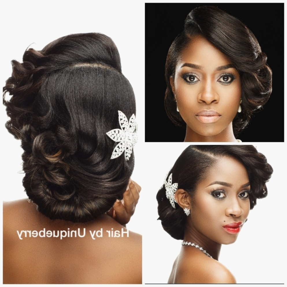 Naija Bridal Regarding Favorite Nigerian Wedding Hairstyles For Bridesmaids (View 12 of 15)