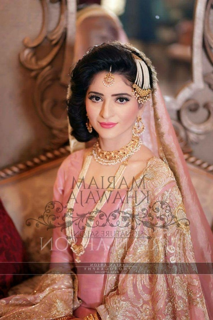 New Pakistani Bridal Hairstyles To Look Stunning  (View 6 of 15)