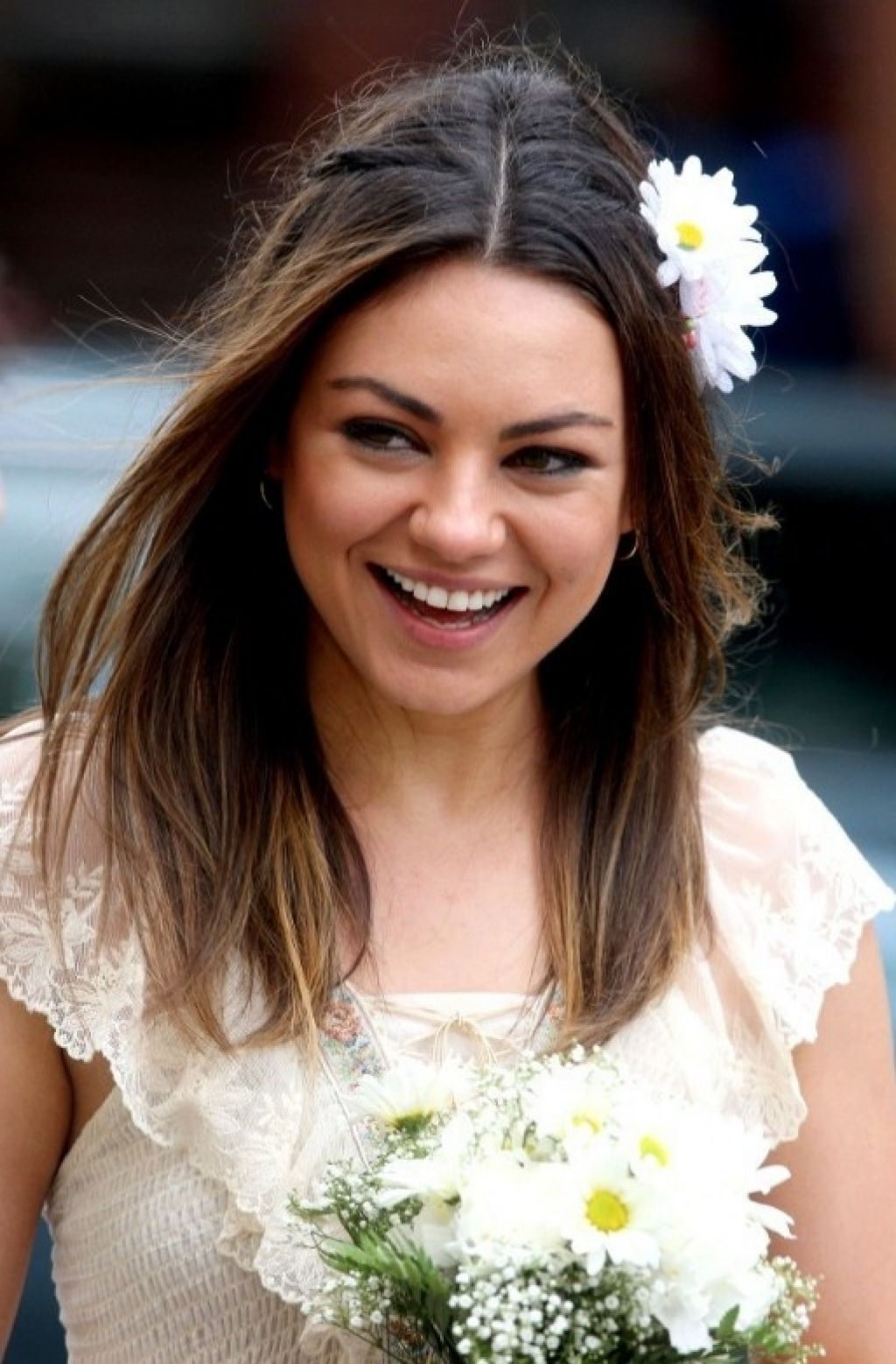 Photo Gallery of Easy Wedding Hairstyles For Long Straight Hair ...