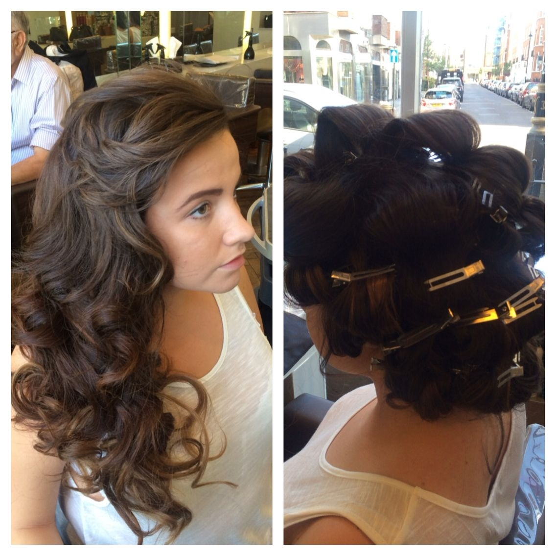 Newest Pin Curls Wedding Hairstyles Throughout The Best Pin Curl Blow Dry Blowdry Bar Wedding Hair And Accessories (View 8 of 15)