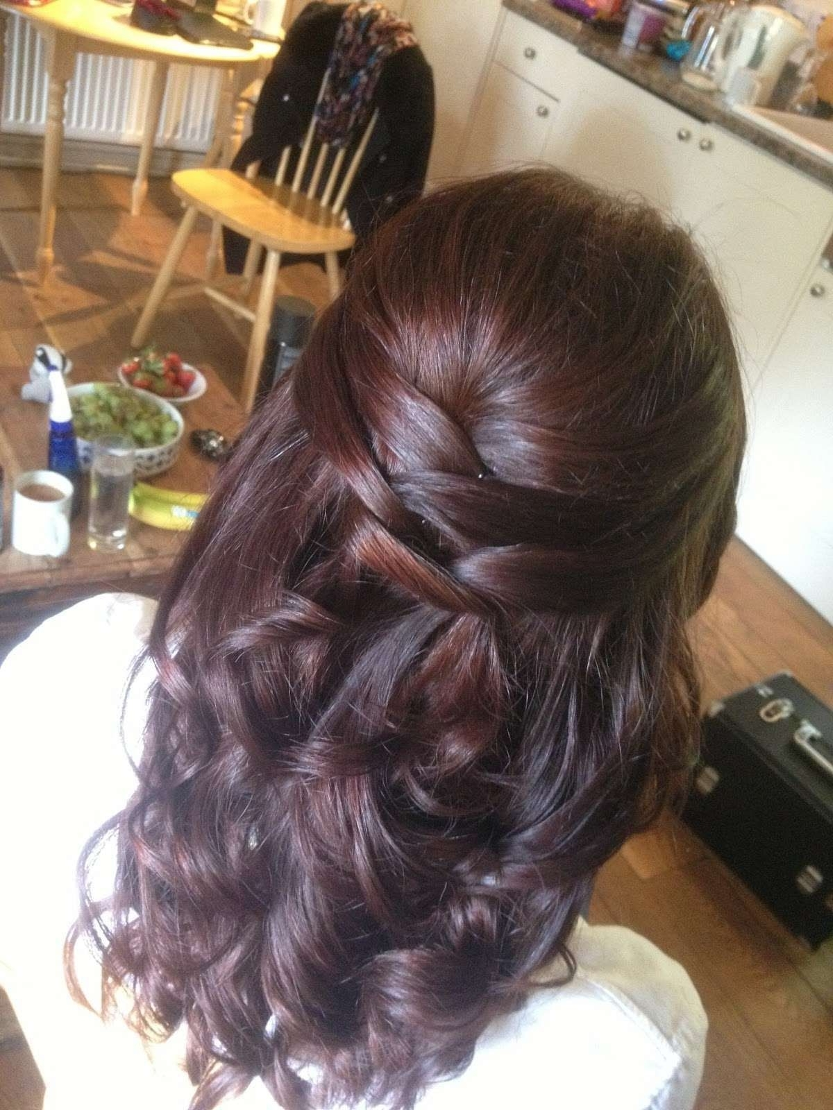 Newest Wedding Hairstyles For Long Straight Hair For Prom Hairstyles For Long Straight Hair Design Free Download (View 9 of 15)