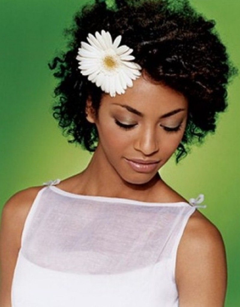 Newest Wedding Hairstyles For Natural African American Hair Intended For African American Wedding Hairstyles – Best Hairstyles Ideas (View 14 of 15)