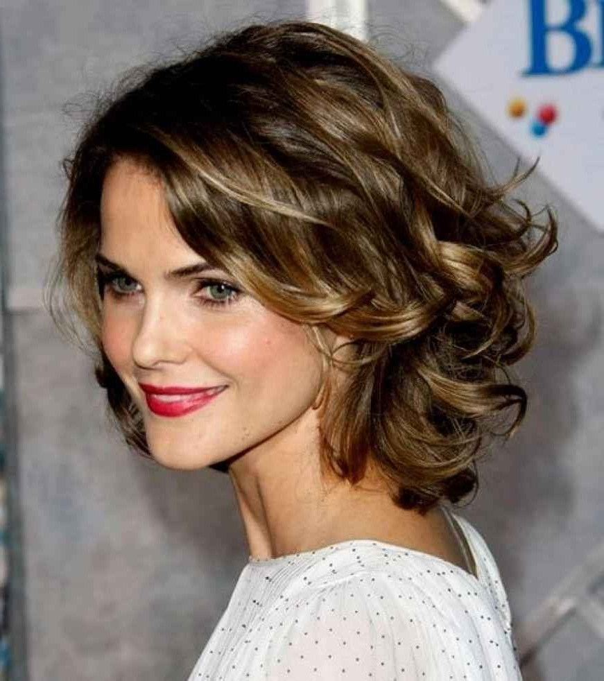 Newest Wedding Hairstyles For Round Face With Medium Length Hair With Regard To Shoulder Length Hair Round Face Lovely Wedding Hairstyles For Medium (View 4 of 15)