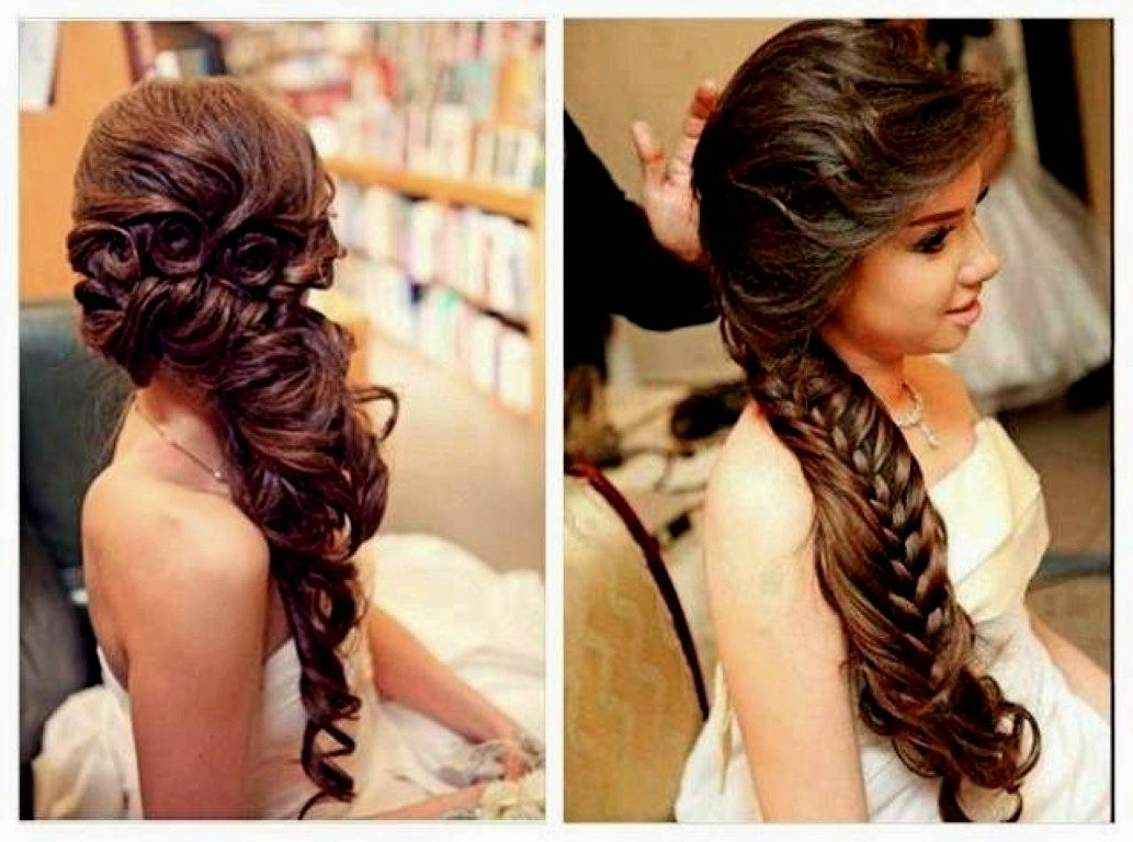 Newest Wedding Hairstyles For Short And Thin Hair With Regard To 25 Quinceanera Hairstyles For Girls (View 10 of 15)