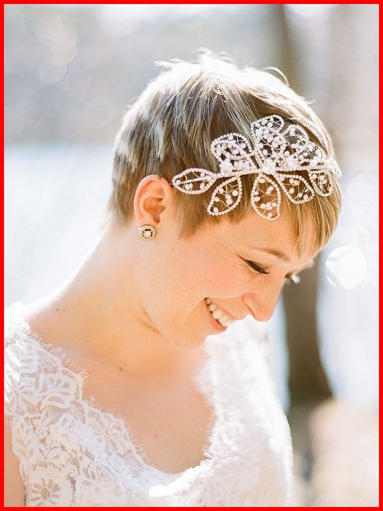 Newest Wedding Hairstyles For Short Hair With Veil With Regard To Wedding Hairstyles With Veil And Headpiece 260386 31 Stunning (View 10 of 15)