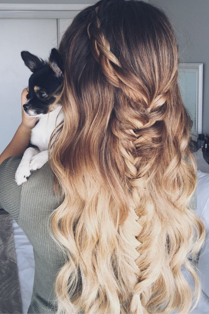 Newest Wedding Hairstyles With Ombre Within 60 Best Ombre Hair Color Ideas For Blond, Brown, Red And Black Hair (View 9 of 15)