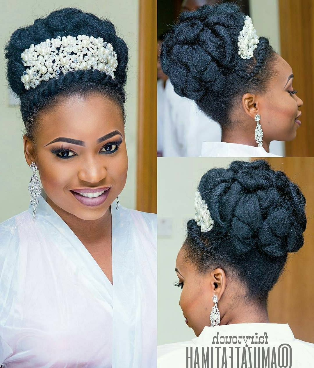 Nigerian Bridal Hairstyles (View 5 of 15)