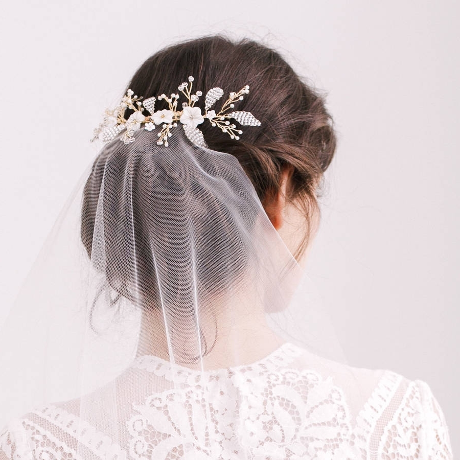 Notonthehighstreet With Famous Wedding Hairstyles With Veil And Flower (View 15 of 15)