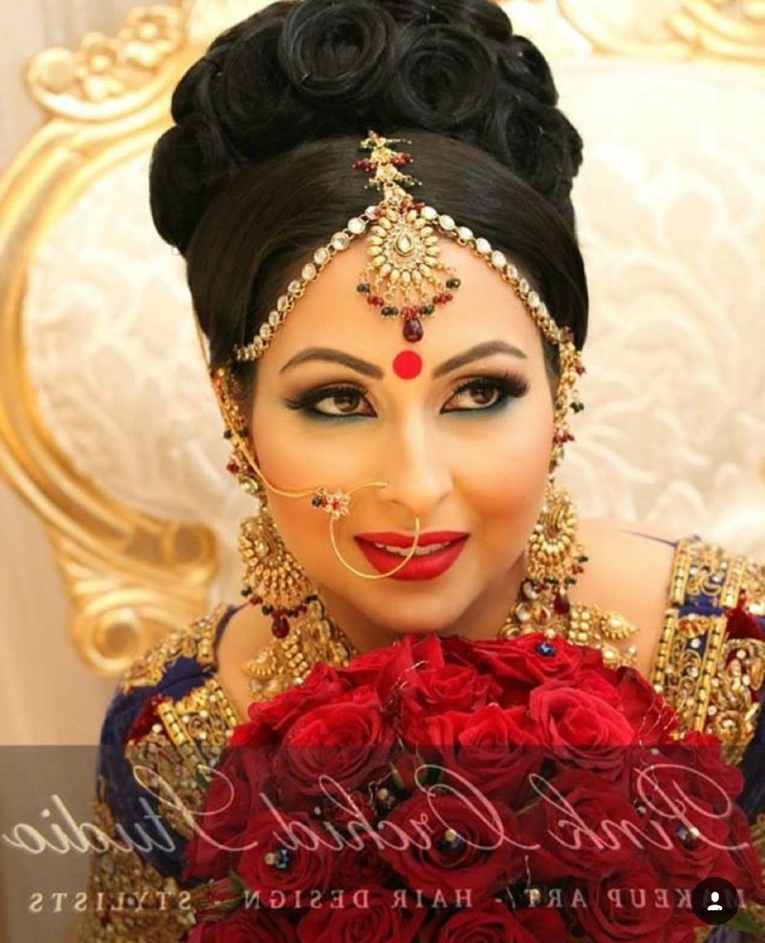Pakistani Bridal Hairstyles For Long Hair Luxury Pakistani Wedding With Regard To Newest Pakistani Wedding Hairstyles (View 8 of 15)