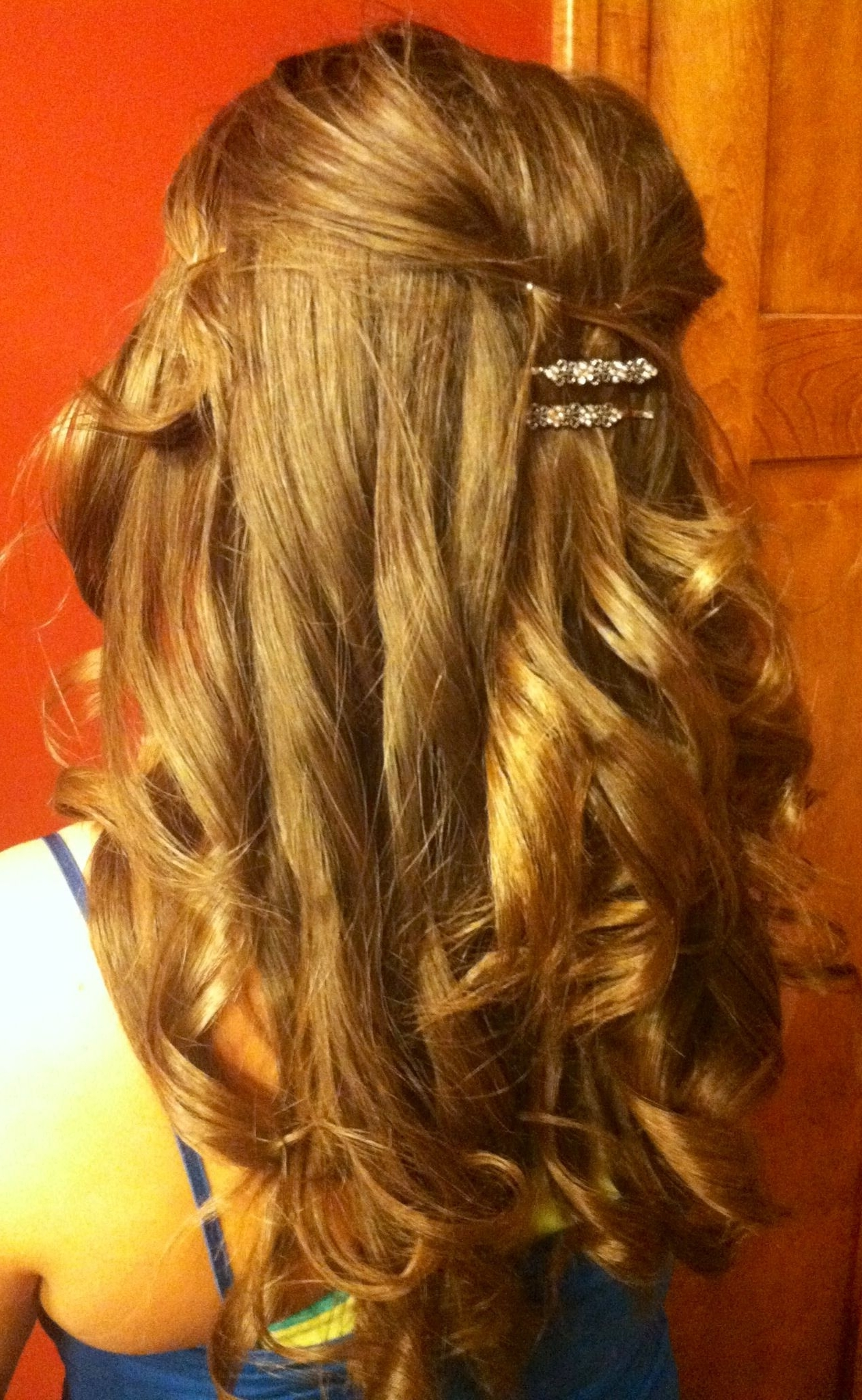 Partial Updo Wedding Hairstyles – Http://hairstyle (View 15 of 15)