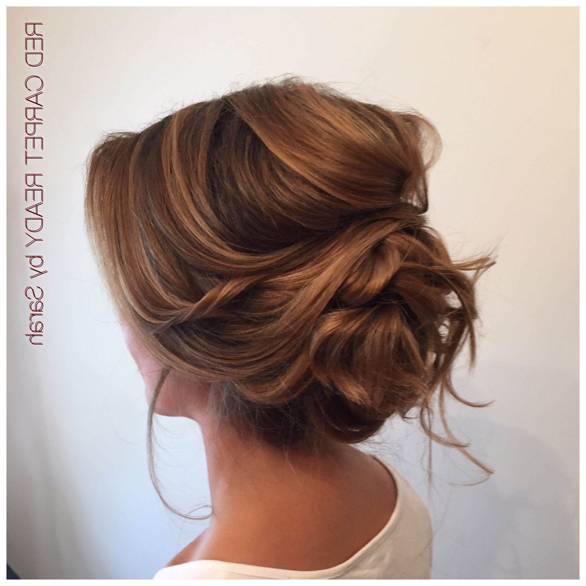 Peinados Y/o Tocados Pertaining To Current Wedding Hairstyles For Long Low Bun Hair (View 12 of 15)