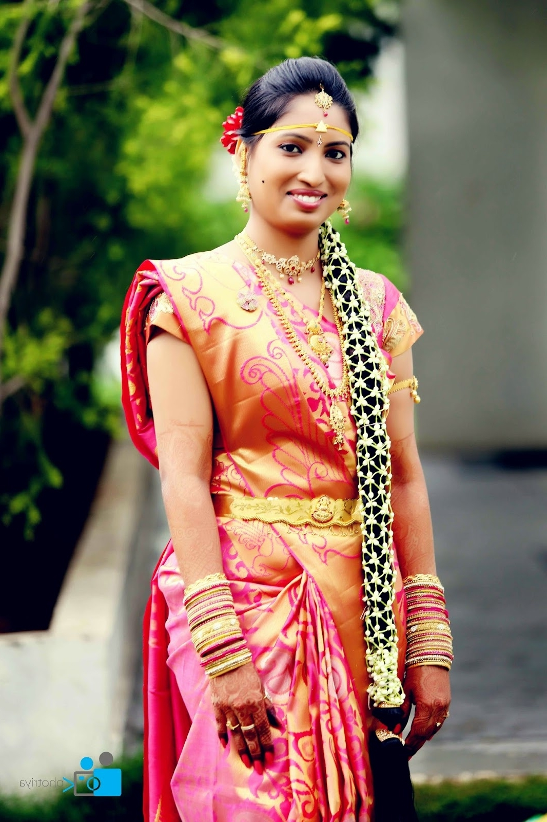 Pelli Poola Jada: Southindian Bridal Hairstyles With Flowers For Recent South Indian Tamil Bridal Wedding Hairstyles (View 15 of 15)