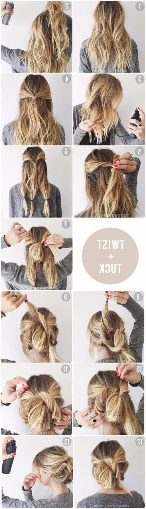Perfectly Imperfect Messy Hair Updos For Regarding 2018 Messy Wedding Hairstyles For Long Hair (View 10 of 15)
