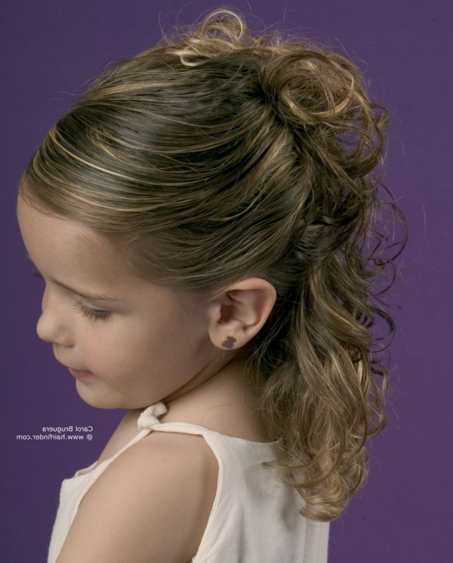 Photo: Cute Hair For Kids For Wedding Wedding Hairstyles For Kids With Regard To Popular Wedding Hairstyles For Kids (View 12 of 15)