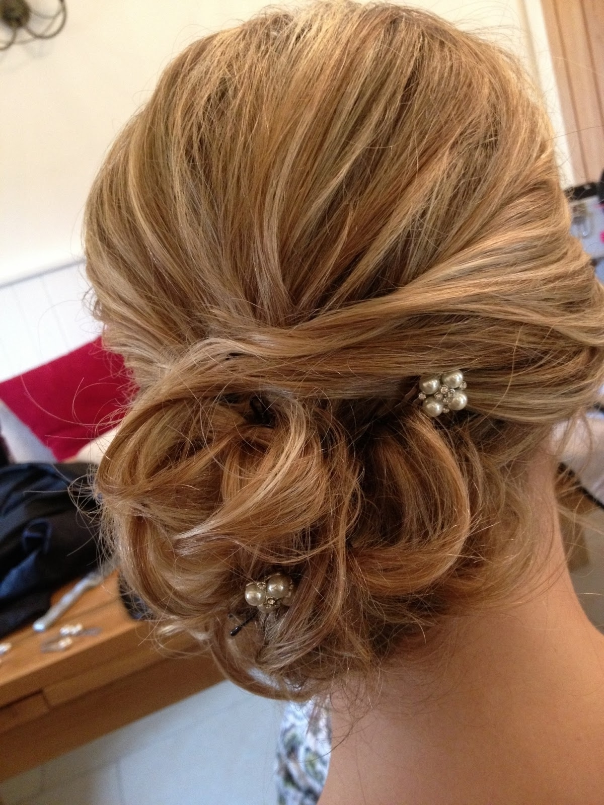 Photo: Loose Side Curly Updo Bridal Hairstyles Curly Hairstyles For With Well Known Curly Side Bun Wedding Hairstyles (View 13 of 15)