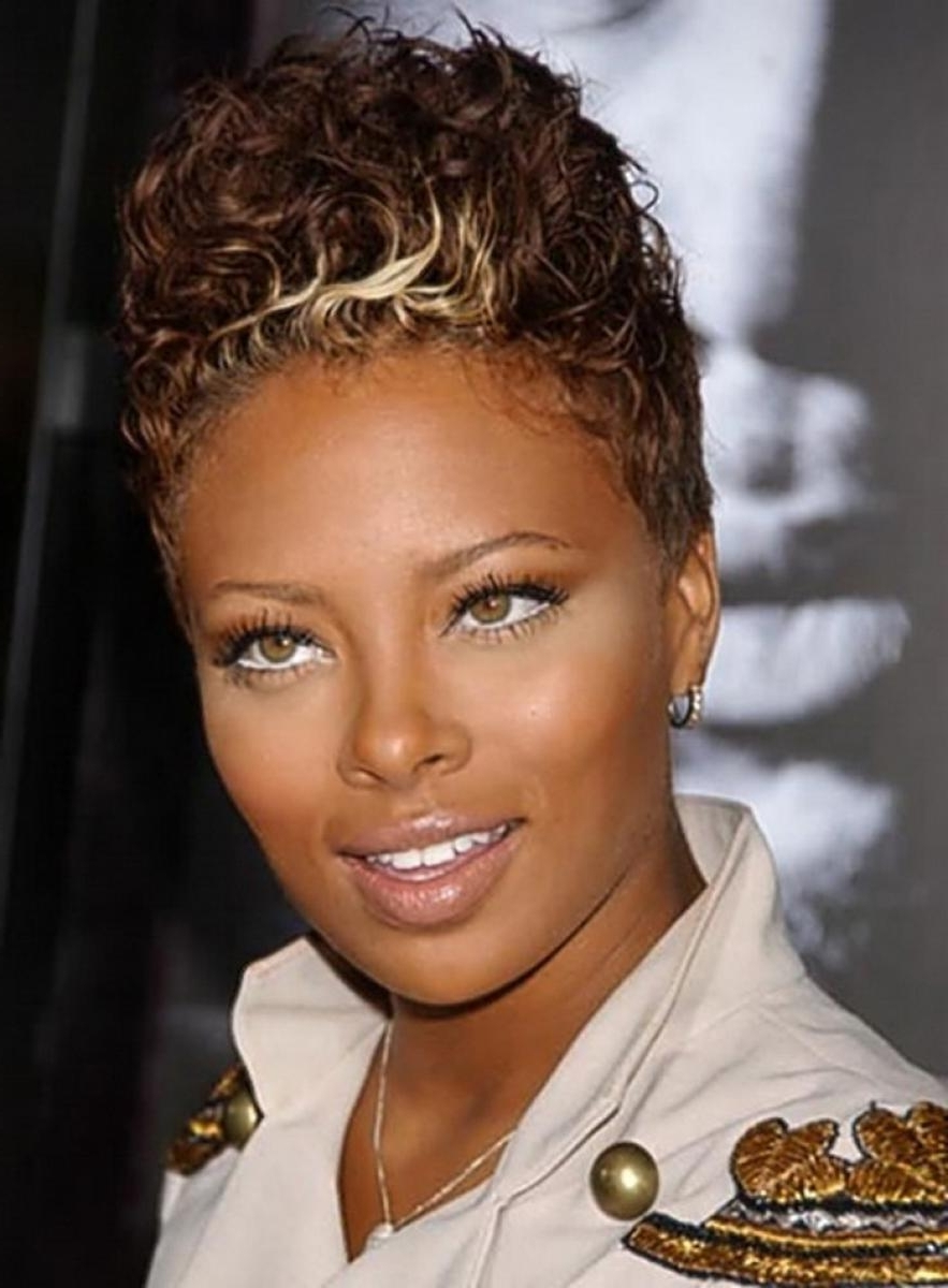 Pictures Of Best Short Hairstyles For Black Women Intended For Most Current Wedding Hairstyle For Short African Hair (Gallery 9 of 15)