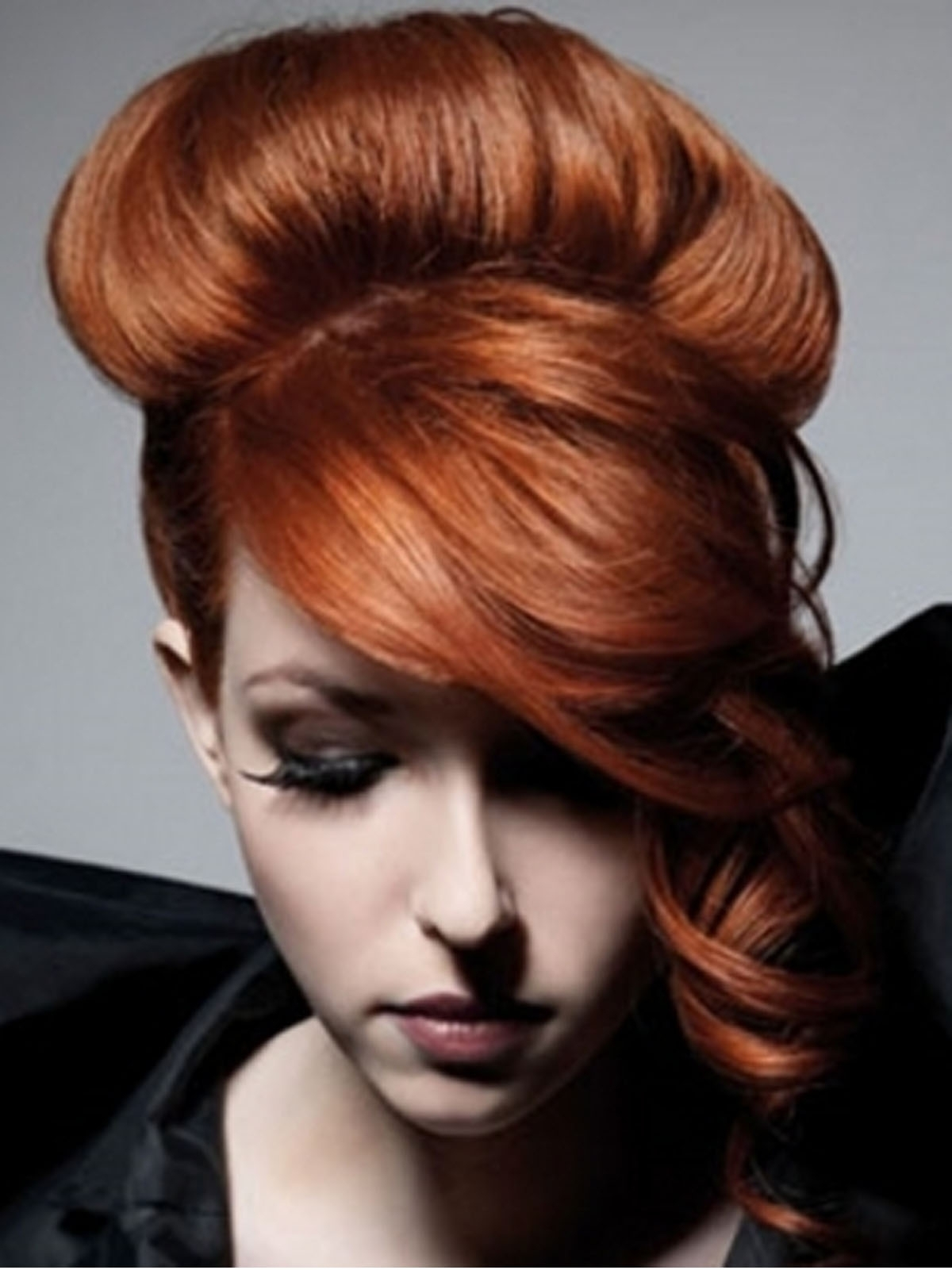 Photo Gallery Of Wedding Hairstyles For Long Red Hair Viewing 8 Of