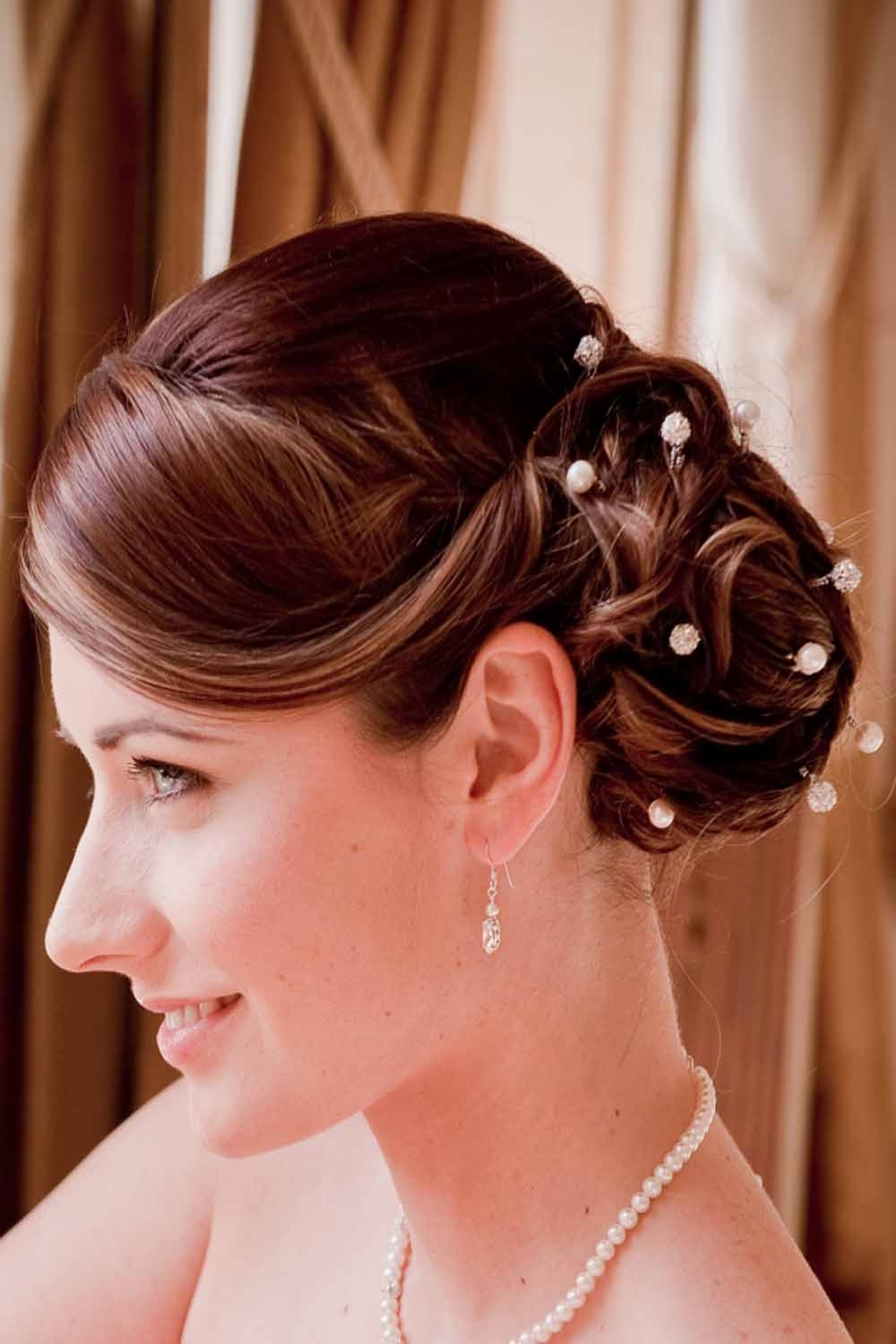 Pictures Of Wedding Hairstyles For Long Hair 2011 With Most Recent Modern Wedding Hairstyles For Medium Length Hair (View 8 of 15)