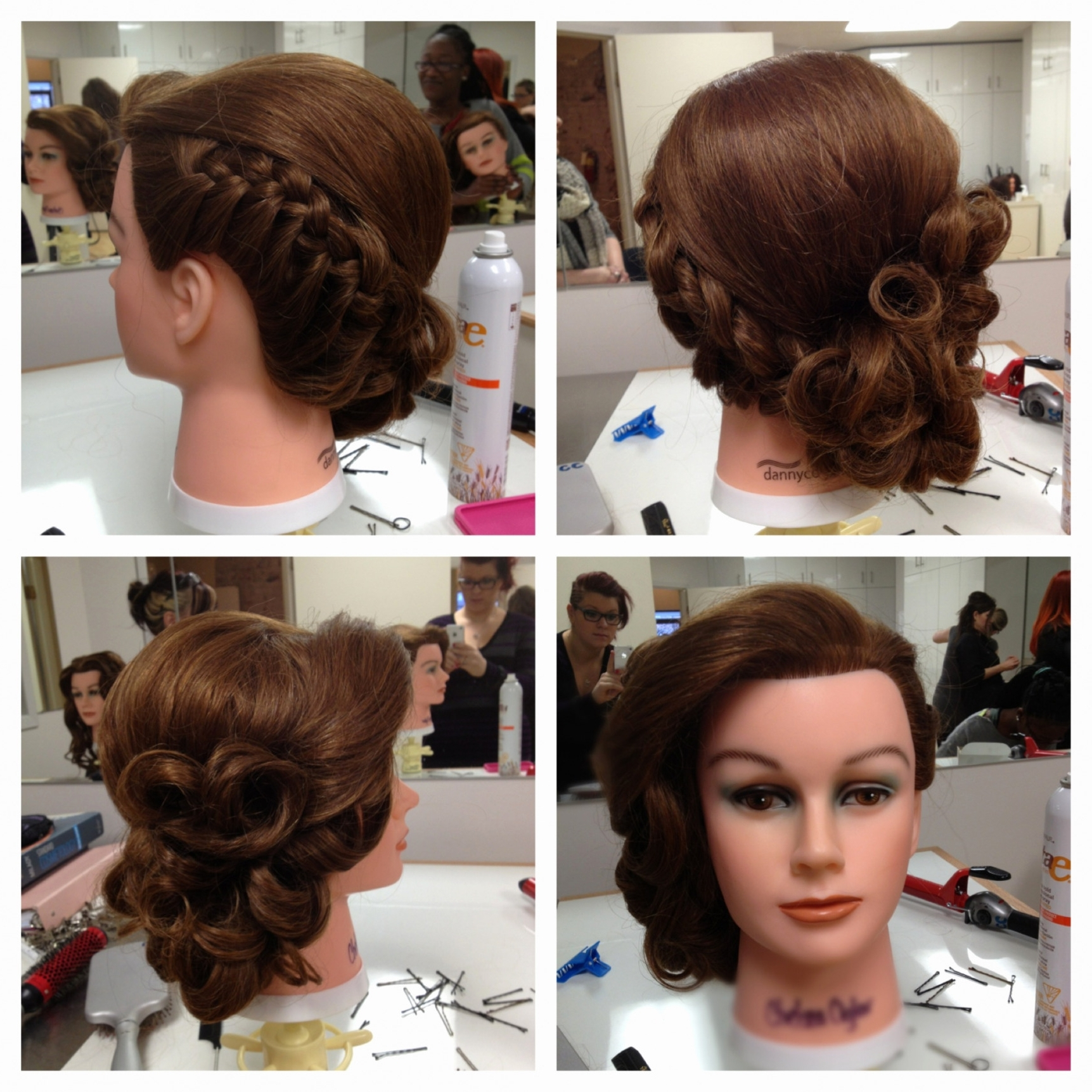 Pin Up Wedding Hairstyles Magnificent Curly Side Pin Up Hairstyles Intended For Most Up To Date Pin Up Wedding Hairstyles (View 12 of 15)