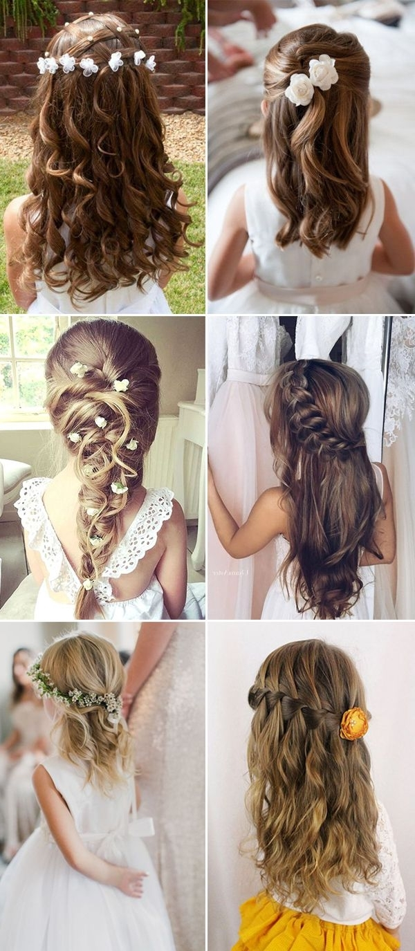 Featured Photo of Wedding Hair For Young Bridesmaids