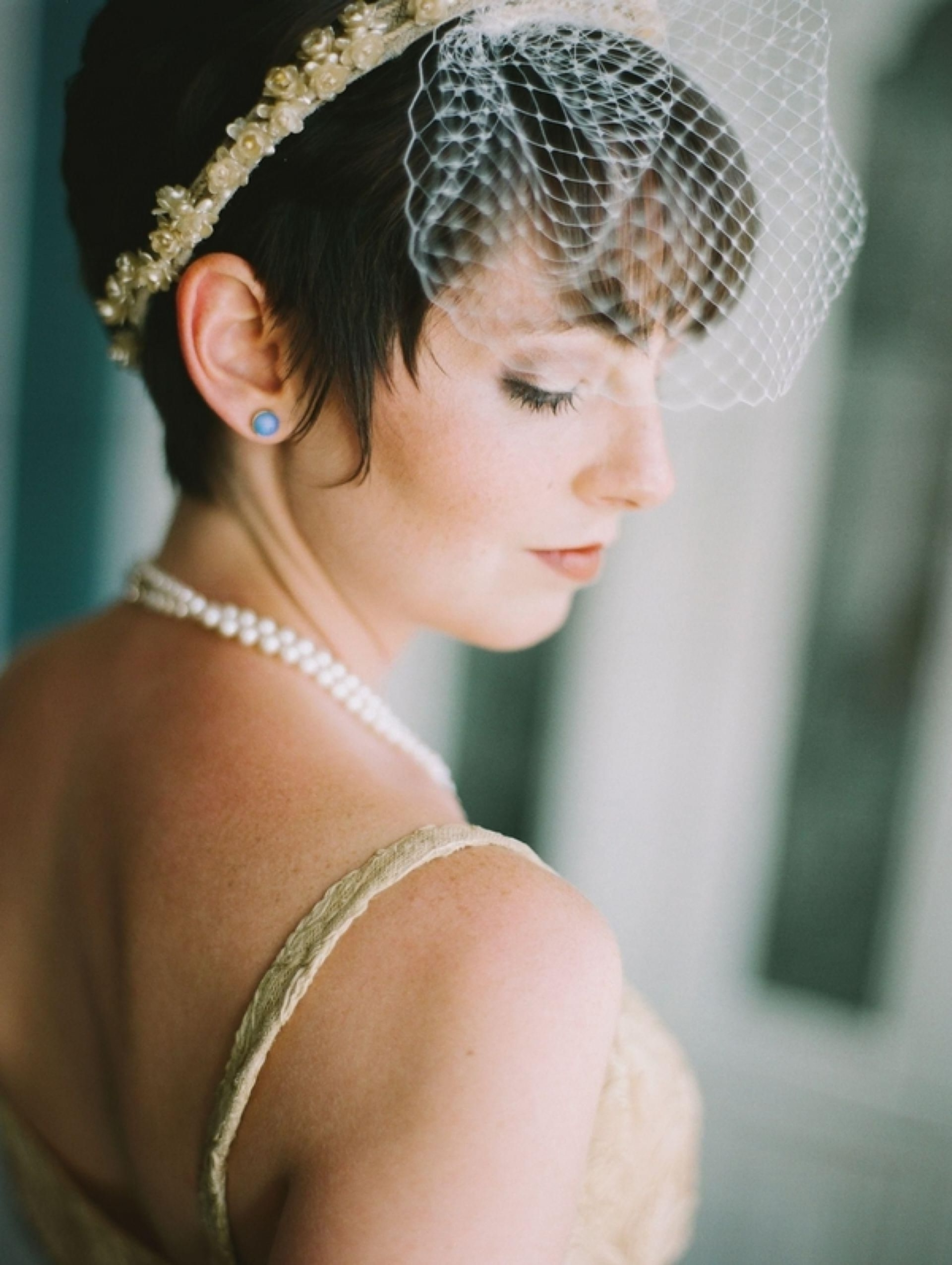 Pixie Cut Headband, Short Bridal Hairstyles (View 12 of 15)