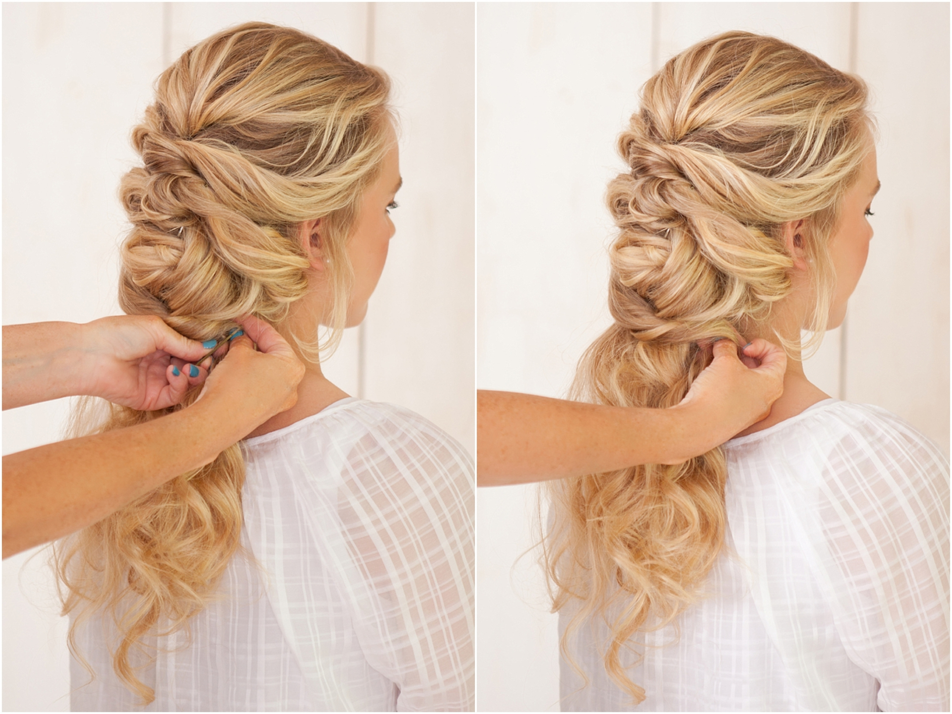 Plait Wedding Hairstyles French Braid Wedding Hairstyle The Bride Regarding Favorite Wedding Hairstyles With Plaits (View 6 of 15)