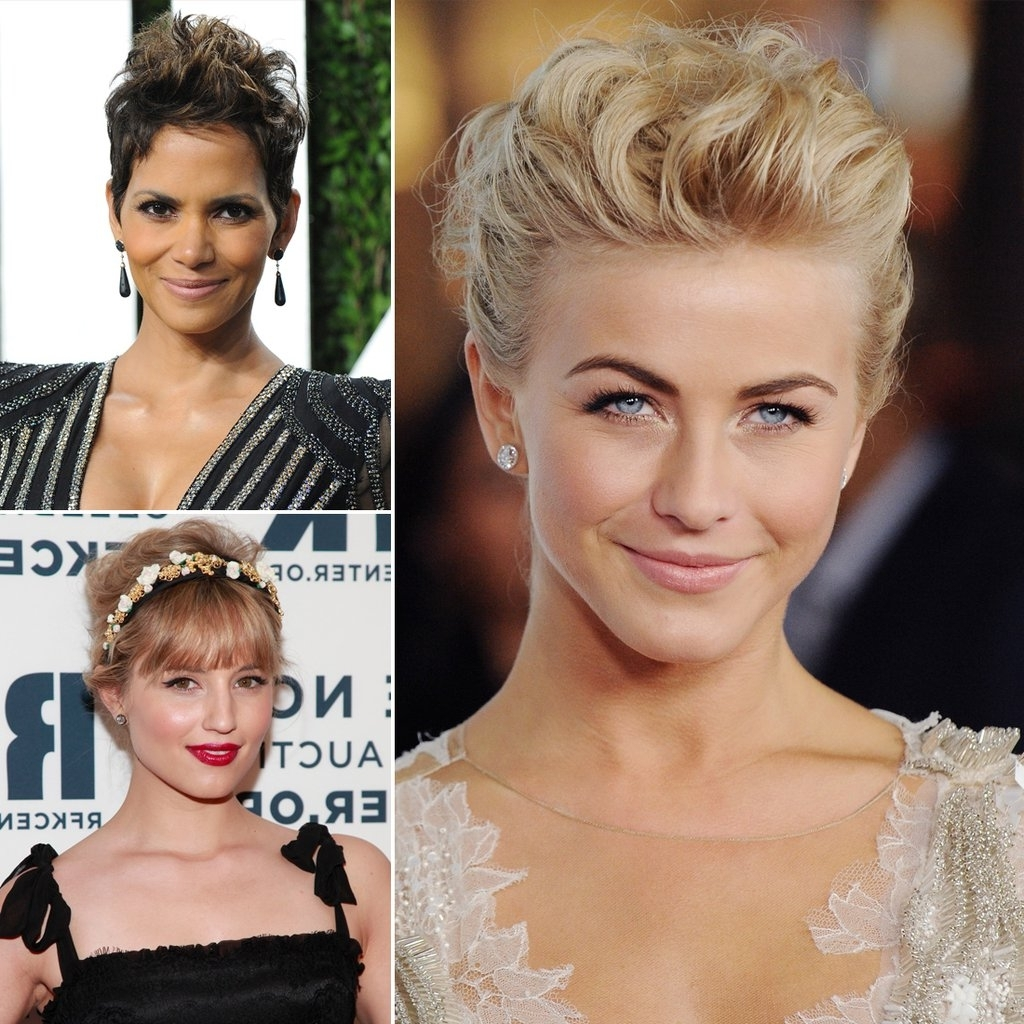 Popsugar Beauty Intended For Well Liked Wedding Hairstyles On Short Hair (View 5 of 15)