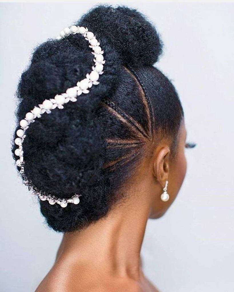 Popsugar Beauty Uk For Most Up To Date Wedding Hairstyles For Kinky Hair (View 13 of 15)